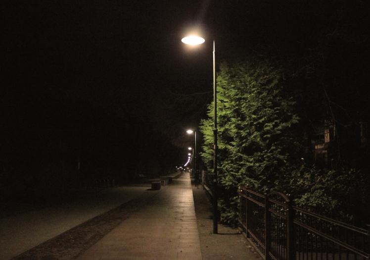 Nachtwege © Sandra Grüning
