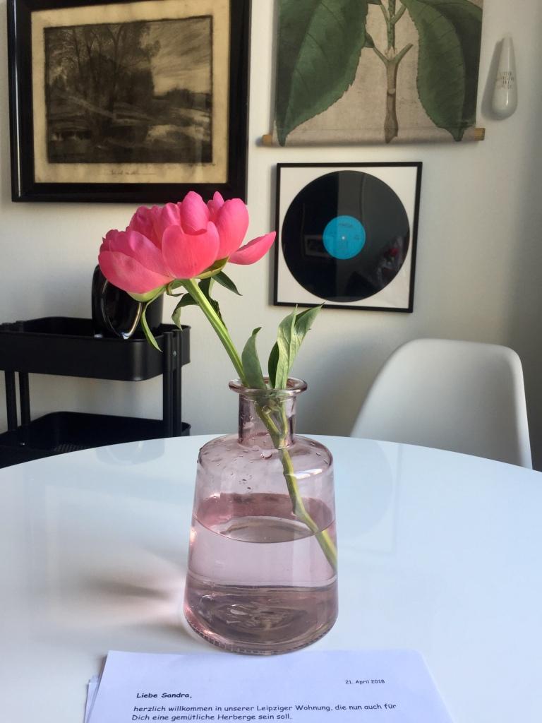 Vielen Dank für die Blumen © Sandra Grüning