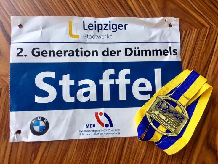 Das Dümmelsche Familienstaffelmarathon-Projekt © Sandra Grüning