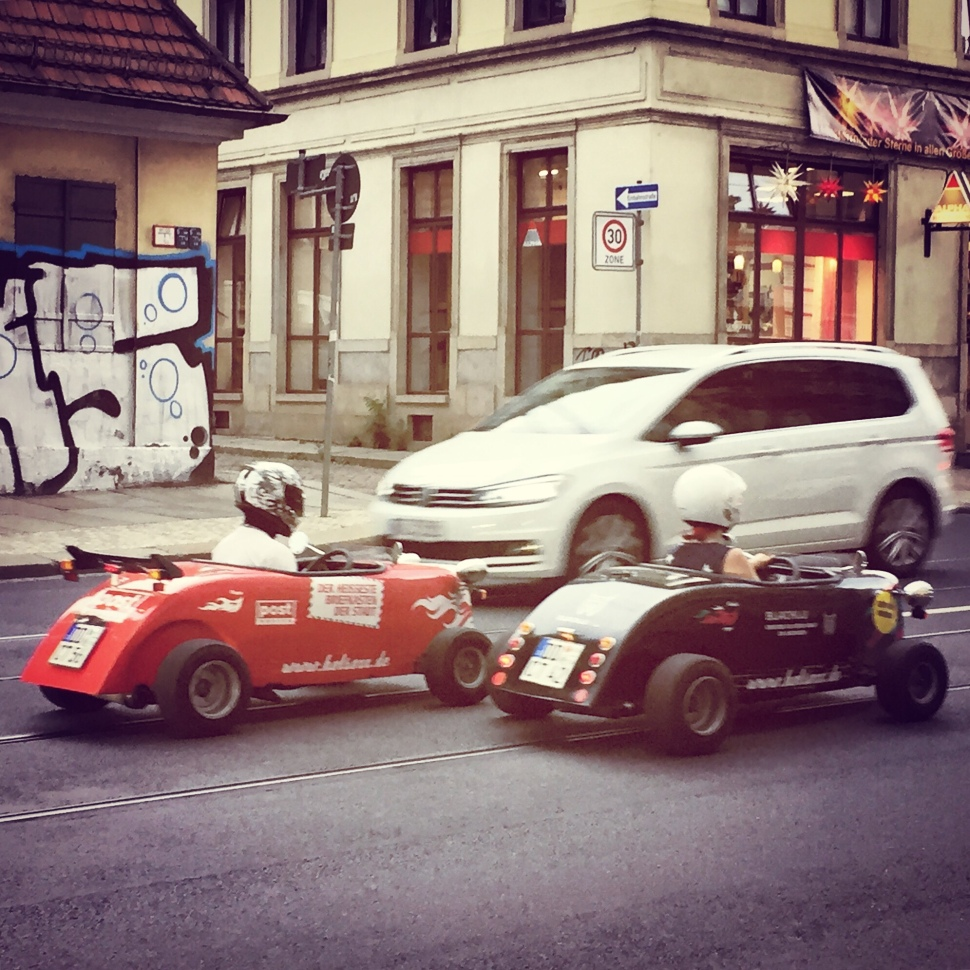 Mini-Hot Rods on Tour © Sandra Grüning