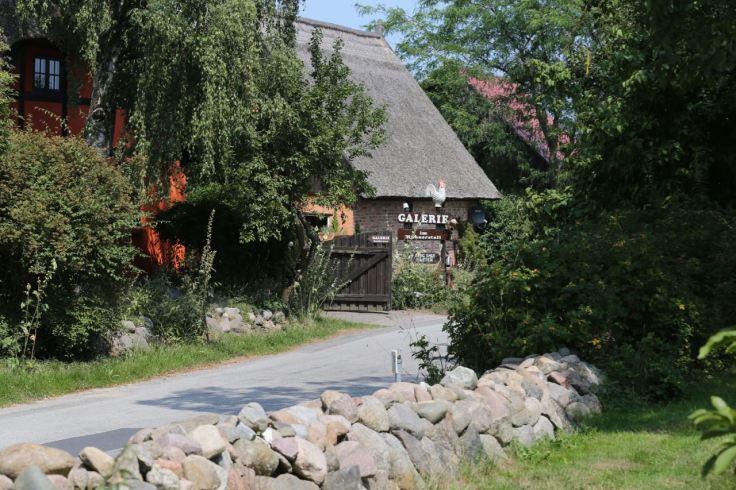 Reetgedecktes Haus, Galerie in Neeberg