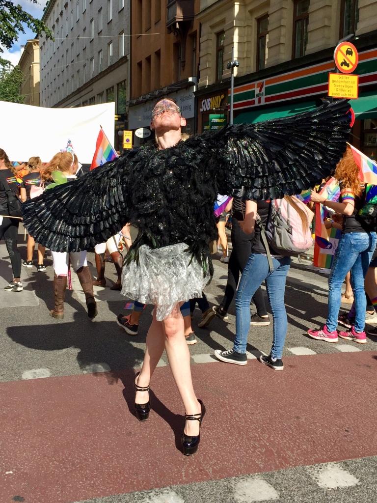 Ich bin ein schräger Vogel © Sandra Grüning