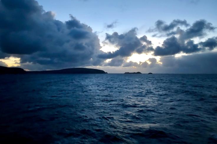 Shetland Islands bei Sonnenuntergang © Sandra Grüning