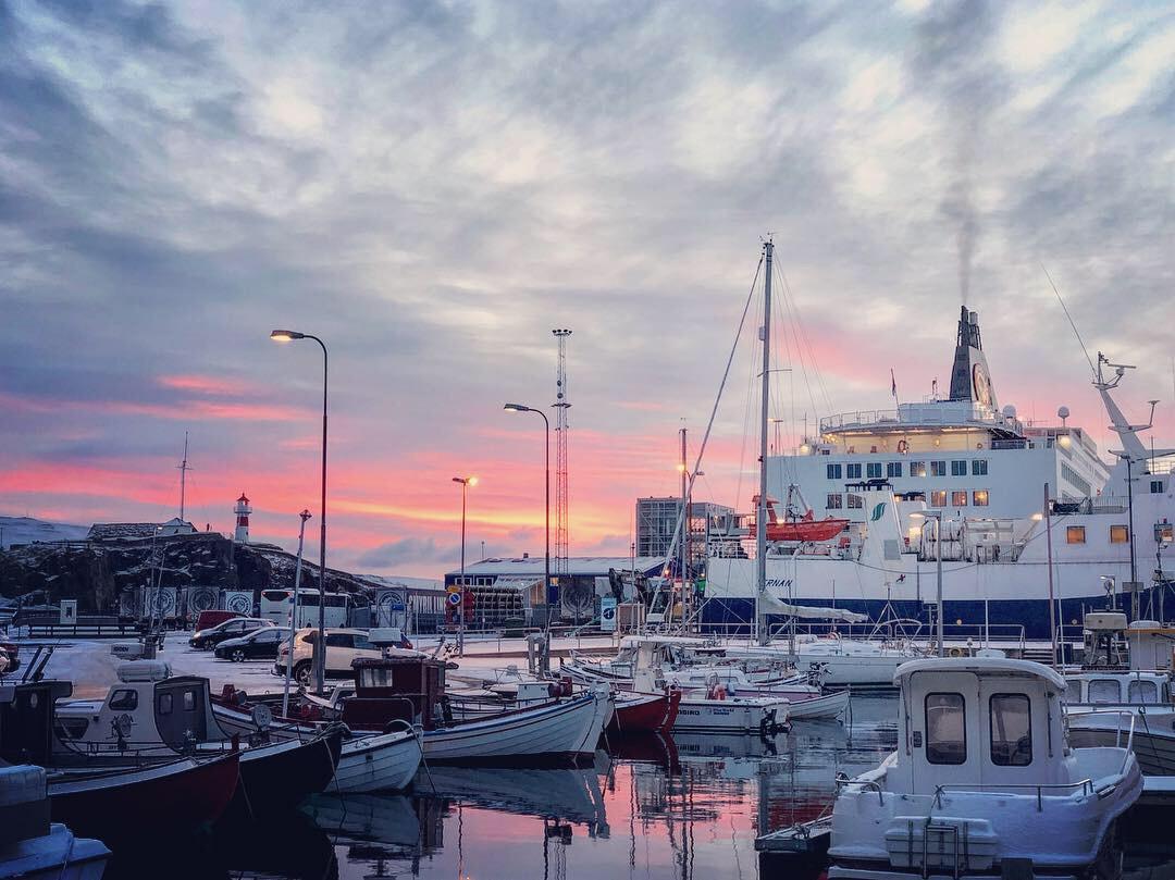 Morgens in Tórshavn © Sandra Grüning