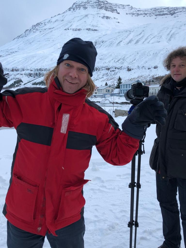 Ein bisschen Spaß muss sein- Mit Thore und André © Sandra Grüning