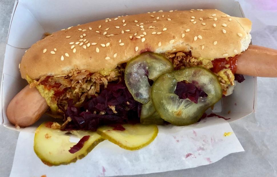 Der leckerste Hotdog ever © Sandra Grüning