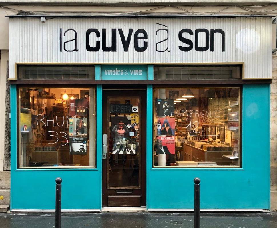 Schallplattenladen in Paris © Sandra Grüning