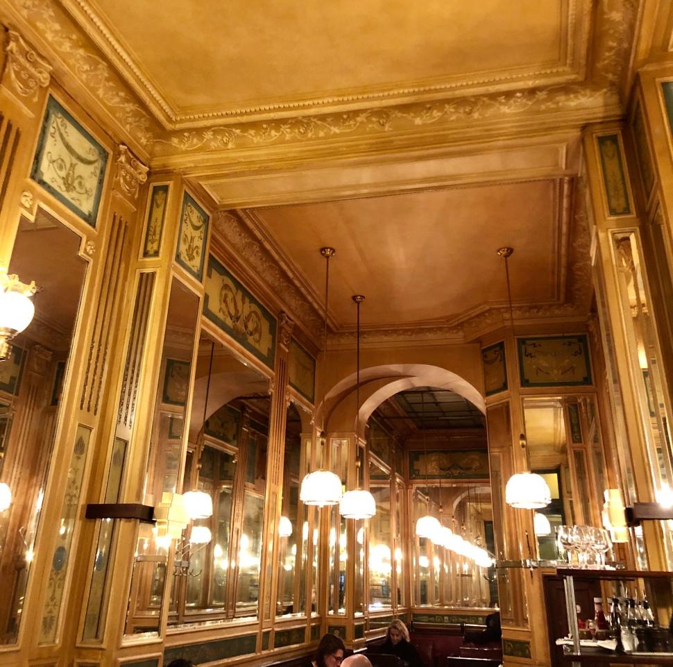 Mondänes Pariser Café-Haus © Sandra Grüning