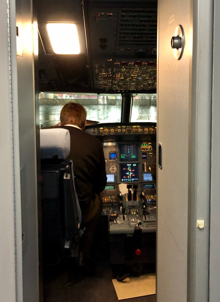 Blick in Flugzeugcockpit © Sandra Grüning